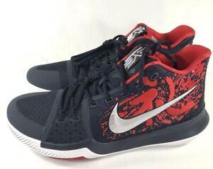 sports shoes 8bfc0 28106 Image is loading NWT-Nike-Kyrie-3-Samurai-Christmas-Mystery-Jordan-
