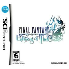Final Fantasy Crystal Chronicles: Echoes of Time [Nintendo DS DSi, Kids RPG] NEW