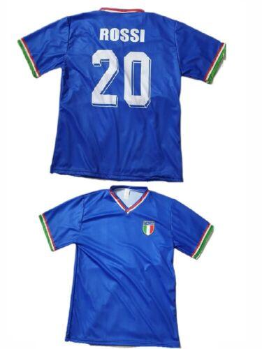 t-shirt maglietta fan di paolo rossi maglia italia campione del mondo 1982
