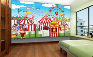 3D Amusement Park 732 Wall Paper Murals Wall Print Wall Wallpaper Mural AU Kyra