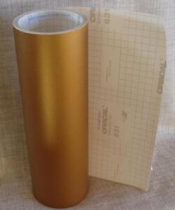 Oracal 631 Matte Vinyl Rolls Metallic Gold