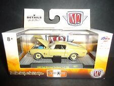 M2 Ford Mustang Fastback 2 + 2 200 1968 Mustard Yellow 1/64 32600-37