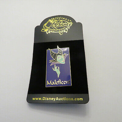 Disney Maleficent Auction Square Name Face Pin Ebay