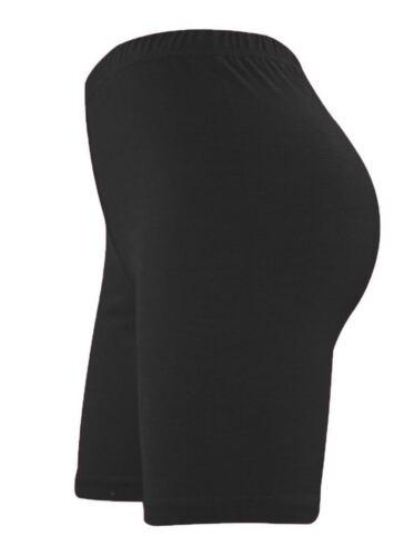 Women/'s Ladies Lycra Cycling Shorts Dancing Leggings Active Casual Shorts 8-28