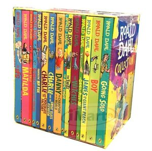 ROALD-DAHL-Collection-15-Books-Box-Set-Phizz-Wizzing-Collection-Book-Brand-New