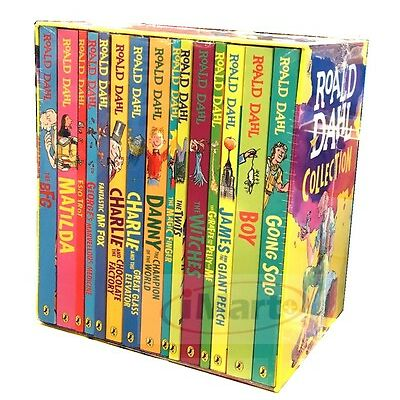 ROALD DAHL Collection 15 Books Box Set Phizz Wizzing Collection Book Brand New