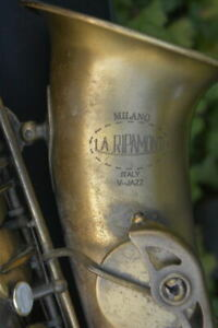 RIPAMONTI-V-JAZZ-ALTO-SAXOPHONE-GOOD-CONDITION-MADE-IN-ITALY-SAX-CONTRALTO