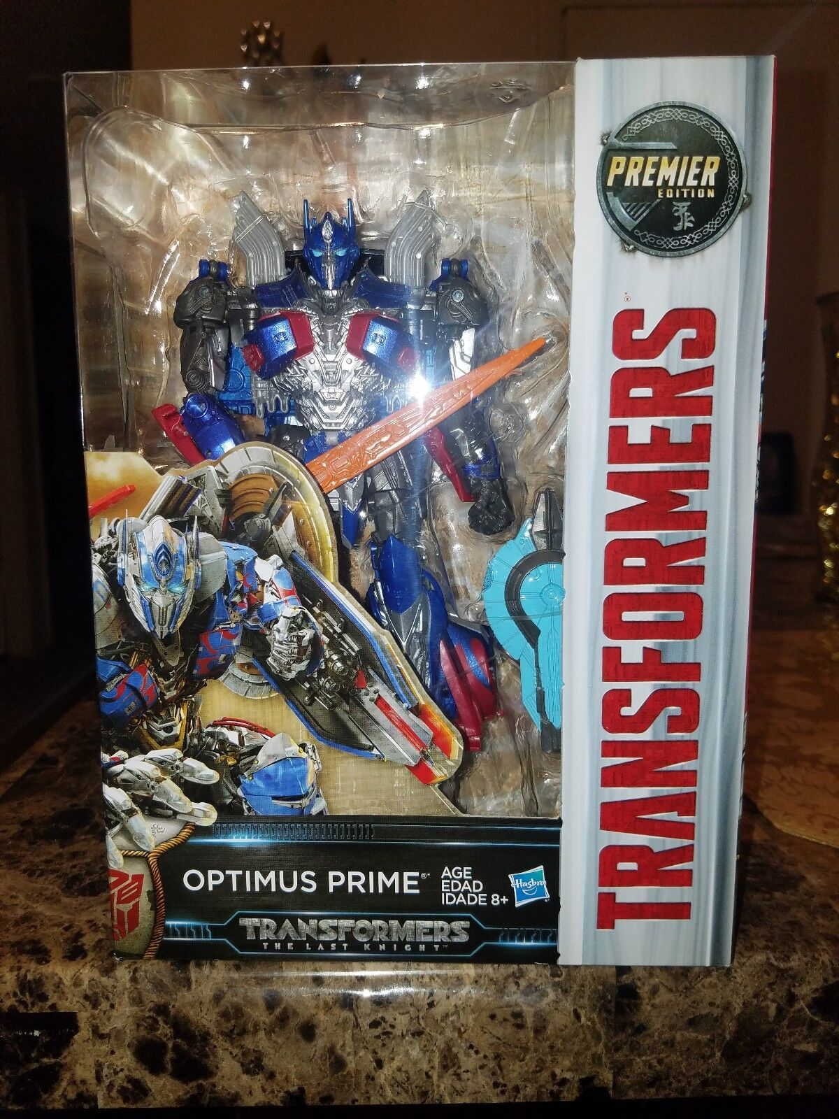 Transformers The Last Knight Premier Ausgabe Voyager Class Optimus Prime