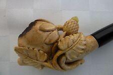 Antique Meerschaum Ladies  Pipe Cased