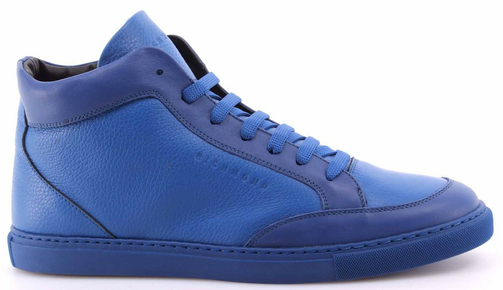 Herren High Top Sneakers Schuhe Schuhe Schuhe RICHMOND 6627 Alce Bluette Leder Blau Neu 243acb