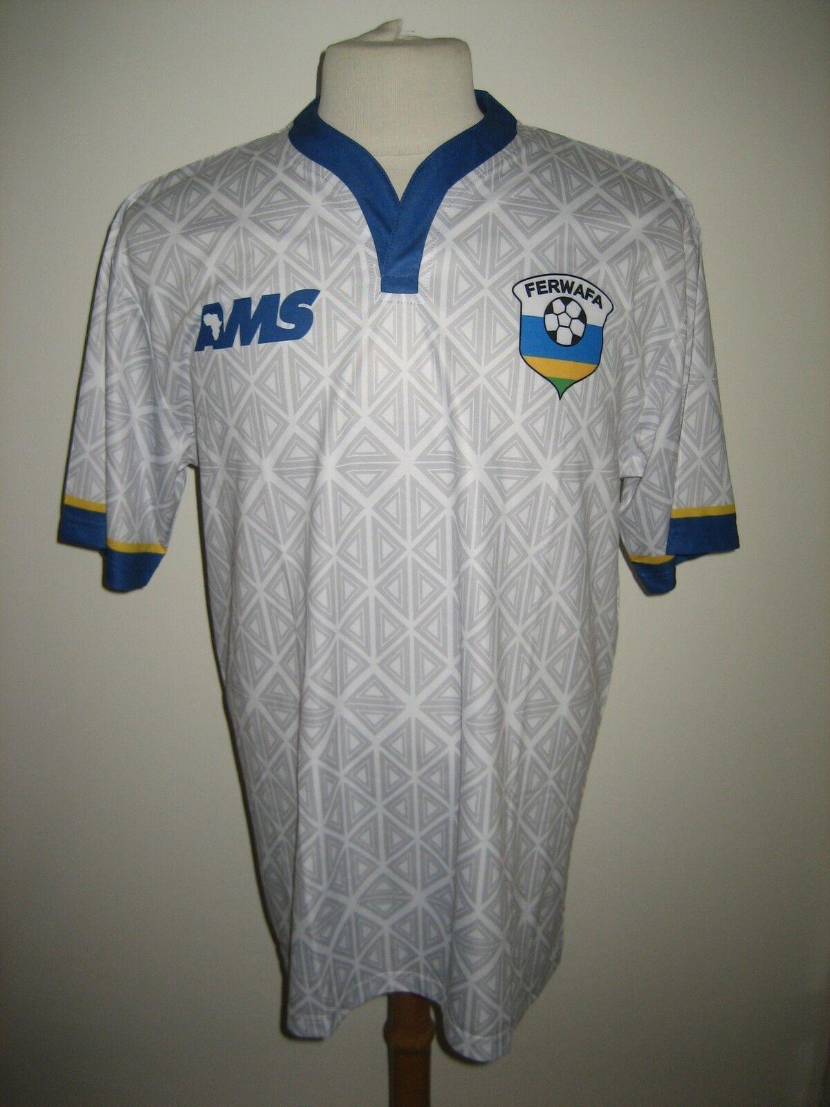 Rwanda away FERWAFA Africa football shirt soccer jersey maillot trikot Talla L