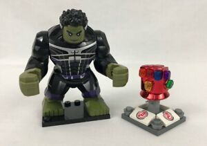 Avengers Endgame Stark Iron Man Red Nano Infinity Gauntlet FOR LEGO minifigures