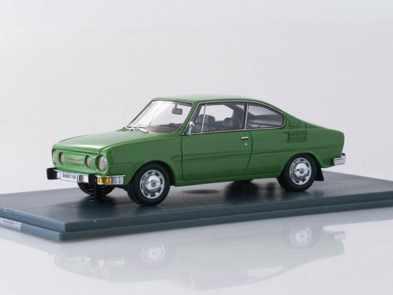 Collection scale model 1 43, Skoda 110 R Grün 1972