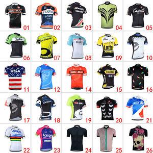 New-Cool-Mens-Road-Bike-Clothing-Fashion-Jerseys-Short-Sleeve-Tops-Riding-Shirt
