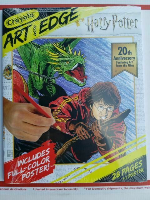 Crayola 040492 Art with Edge Coloring Pages Harry Potter Celebration