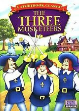 The Three Musketeers-A Story Book Classic DVD BRAND NEW, SEALED