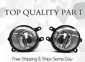 La Foto Se Está Cargando Fog Lights Clear W Bulbs Fits 2009 2010