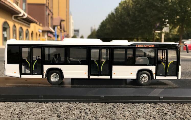 1 50 Modelo de aleación de fabricante original Scania ciudad Bus