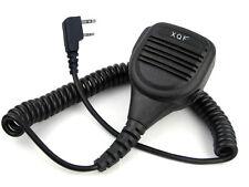 Heavy Duty Water Resistant Rainproof Speaker Mic for KENWOOD WOUXUN PUXING Radio