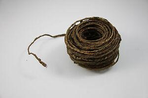12in Natural Bark Wire Vine Reptile Crested Gecko Reptile Lizard Bearded Dragon