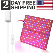 RBWS ACKE LED Grow Light with Veg and Bloom Switch,Waterproof Plant Light with Clamp for Grow Light Stand,Mini Greenhouse,Indoor Gardening