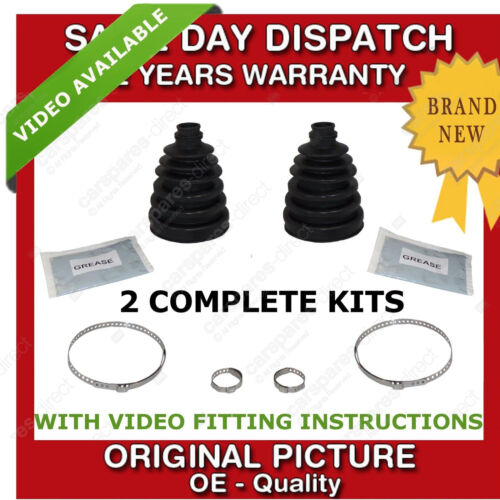 2x VAUXHALL OUTER CV BOOT KIT NEW