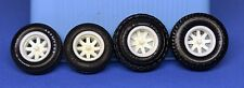 AMT MPC Ford Chevy Dodge 4X4 5 Lug 8 Spoke Wide Truck Resin Mags 1/25 (4X4C)