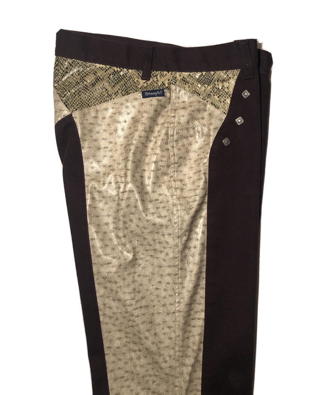Mens or Women's Custom Made Faux Snakeskin WRANGLER Brand Pants! Size: 29x34
