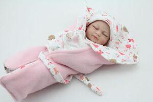 10 Mini Reborn Baby Dolls Soft Silicone Full Vinyl Realistic Newborn Babe Doll Ebay