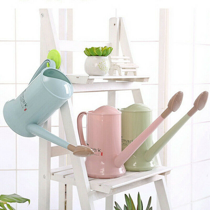 2 Liter Watering Can Flower Plant Detachable Long Mouth Kettle Garden IrrigatiSI