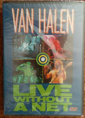 Van Halen Live Without A Net Dvd Rare Oop Htf Sammy Hagar Eddie Alex Anthony 603497033829 Ebay