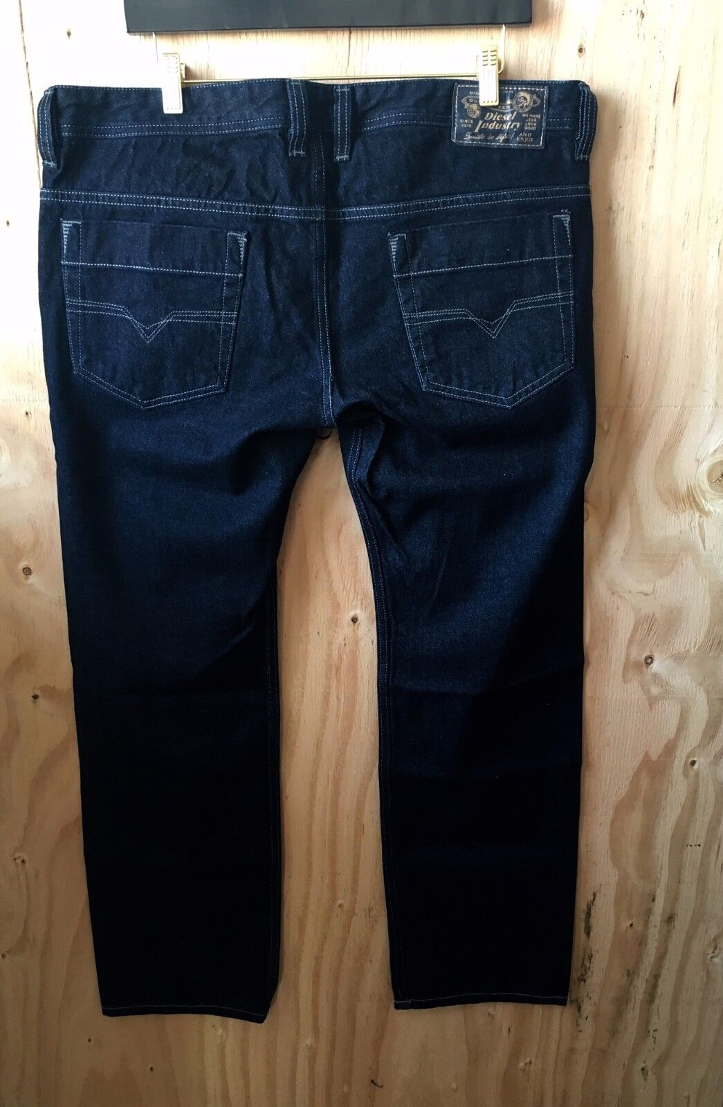 Diesel Uomo Jeans , Safado Diritto Sottile, Orz29 Blu Scuro, S 30 31 32 33 34