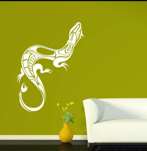 Details about  /Wall Vinyl Decal Animal Little Lizard Small Tail Salamander Reptiles n1369