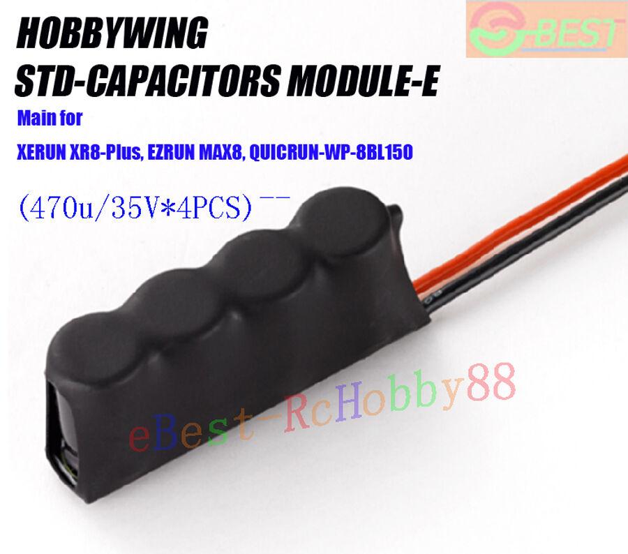 Hobbywing STD-CAPACITORS MODULE-E of XERUN XR8-Plus EZRUN MAX8 QUICRUN-WP-8BL150