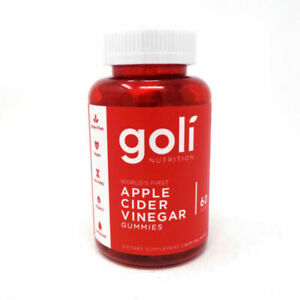 Goli Nutrition Apple Cider Vinegar Gummies - 60 Count