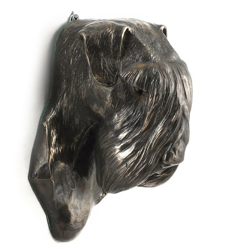 Schnauzer - dog figurine to to to hang on the wall, high quality, Art Dog b9143e