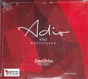 2021 Eurovision - Montenegro 2015. Adio - Knez. ( Promo CD Single.)