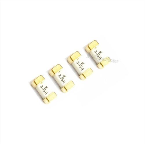 50Pcs Littelfuse Fast Acting Smd Smt Fuse 1808 3.15A 125V Rohs New Ic bp