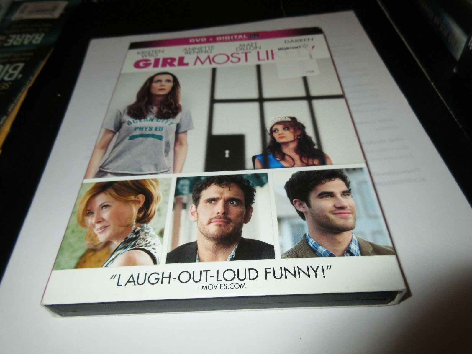 Girl Most Likely , DVD + Digital