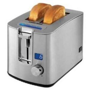 Black and Decker Toaster Stainless Steel 2 Slice TR3490SKT