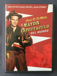DVD-EL-MAYOR-ESPECTACULO-DEL-MUNDO-James-Steward-Charlton-Heston-Betty-Hutton