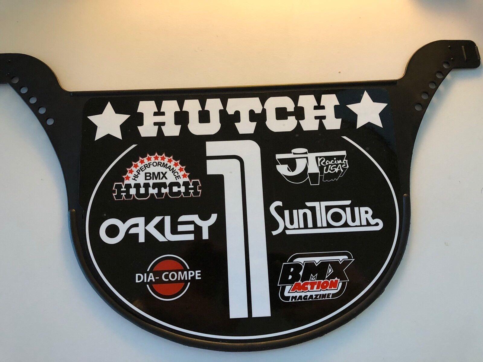 Old School Predo Plate BMX Number plate by NEAL Enterprises - HUTCH BMX