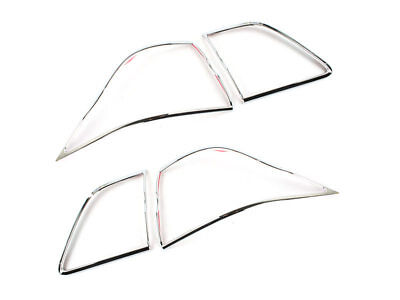 * Tail Light Rear Lamp Bezel Cover Chrome Trim For Lexus LS460