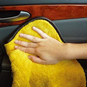 45 x 38cm microfibre voiture de nettoyage serviette de polissage chiffon ebay. Black Bedroom Furniture Sets. Home Design Ideas
