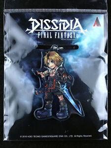 Dissidia-Final-Fantasy-Tidus-Acrylic-Key-Holder-Ring-Square-Enix-New