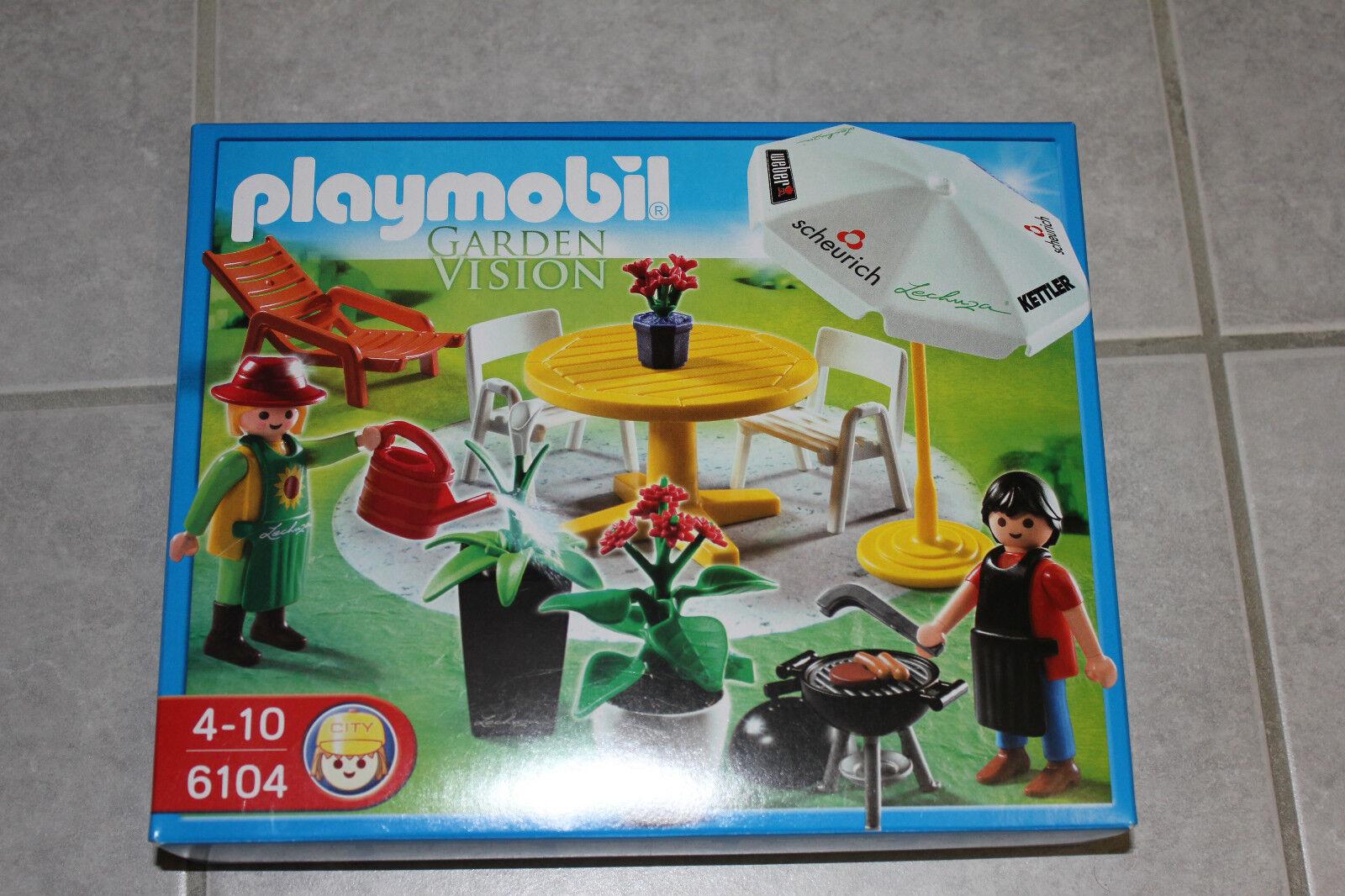 Playmobil Garden Vision 6104 Neuf Misb NRFB Nuevo Ensemble Publicité Figurine de