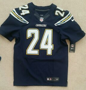 Details about 2015 NWT San Diego Chargers signed Brandon Flowers #24 Game Issued Navy Jersey