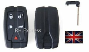 New-5-button-Remote-Key-Blade-Fob-Case-Fit-For-Land-Rover-Freelander-2-3-A72