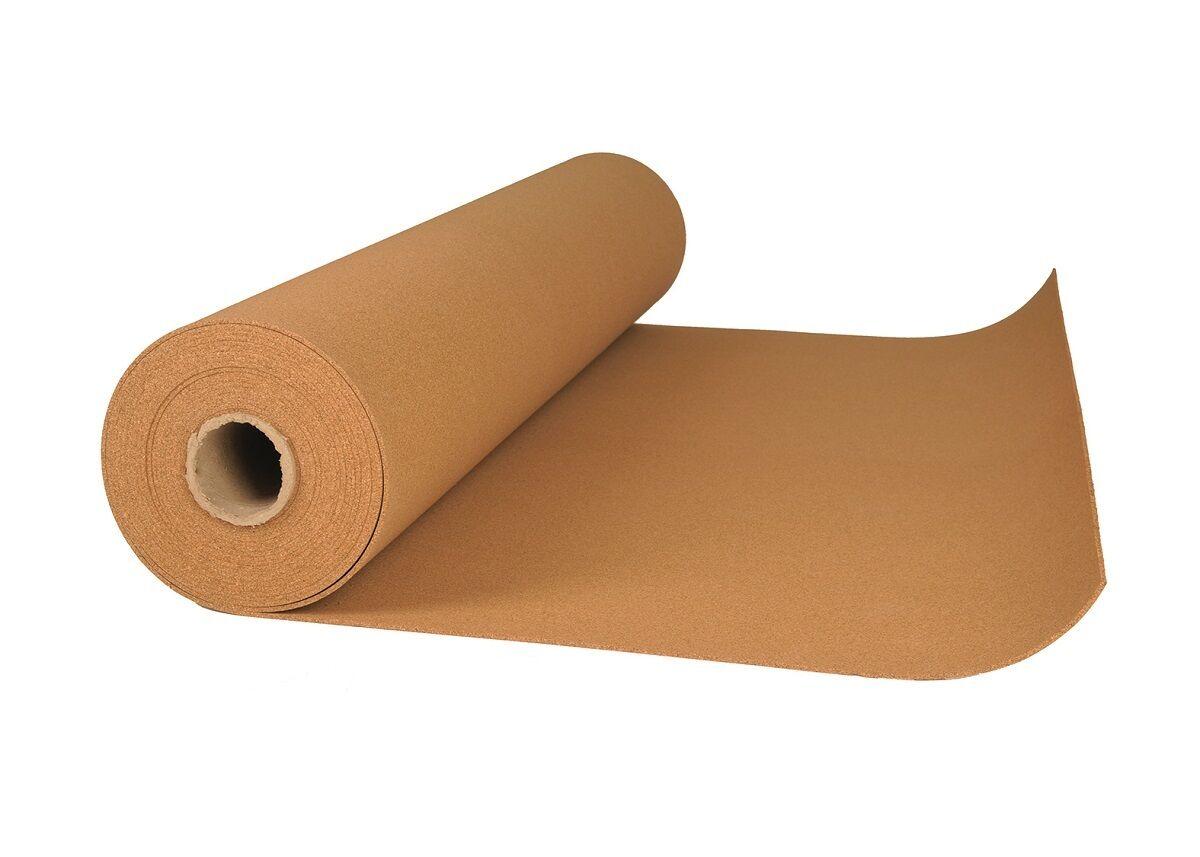 Rollenkork in verschiedenen Maßen und Stärken Vinyl Boden Dämmung Dämmung Dämmung Kork Rolle 11e6a2