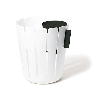 GemäßIgt Papierkorb Weiß Schwarz Büro Mit Einsatz Zur Mülltrennung Konstantin Slawinski Papierkörbe & Mülleimer Büro & Schreibwaren
